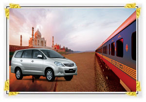 Taj Tour by Train & Car