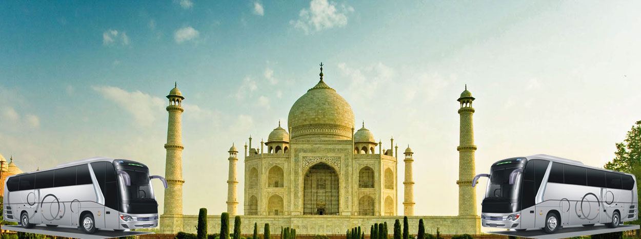 Taj mahal tour by bus